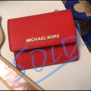 SOLD on M!! Michael Kors small wallet